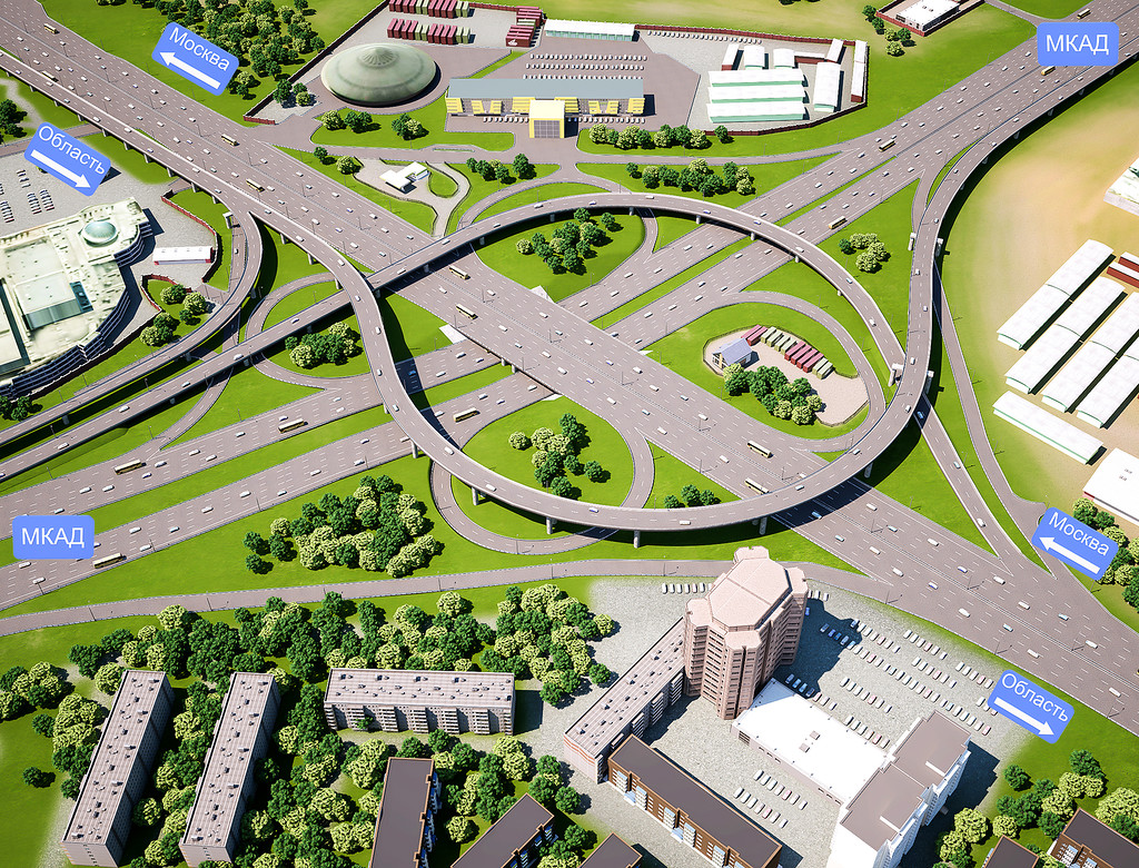 Проект развязки МКАД —Ленинградское шоссе