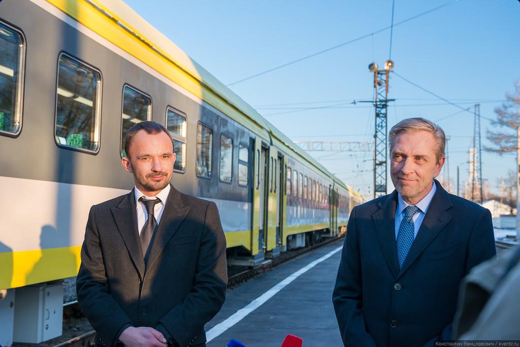 Михаил Олейник и Михаил Хромов остались довольны презентацией