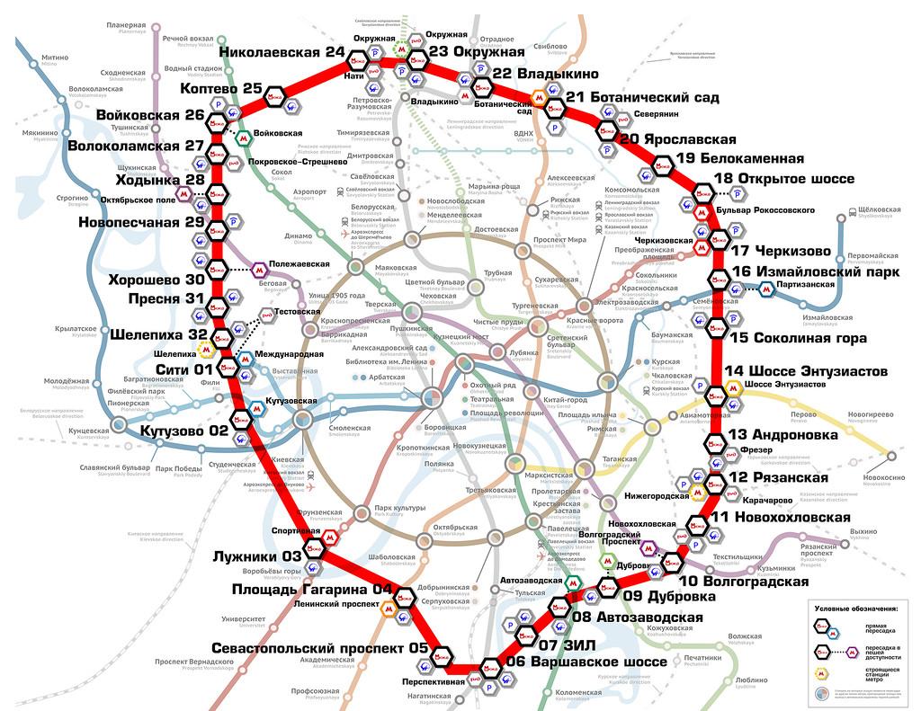На линии будет построено в общей сложности 32 станции