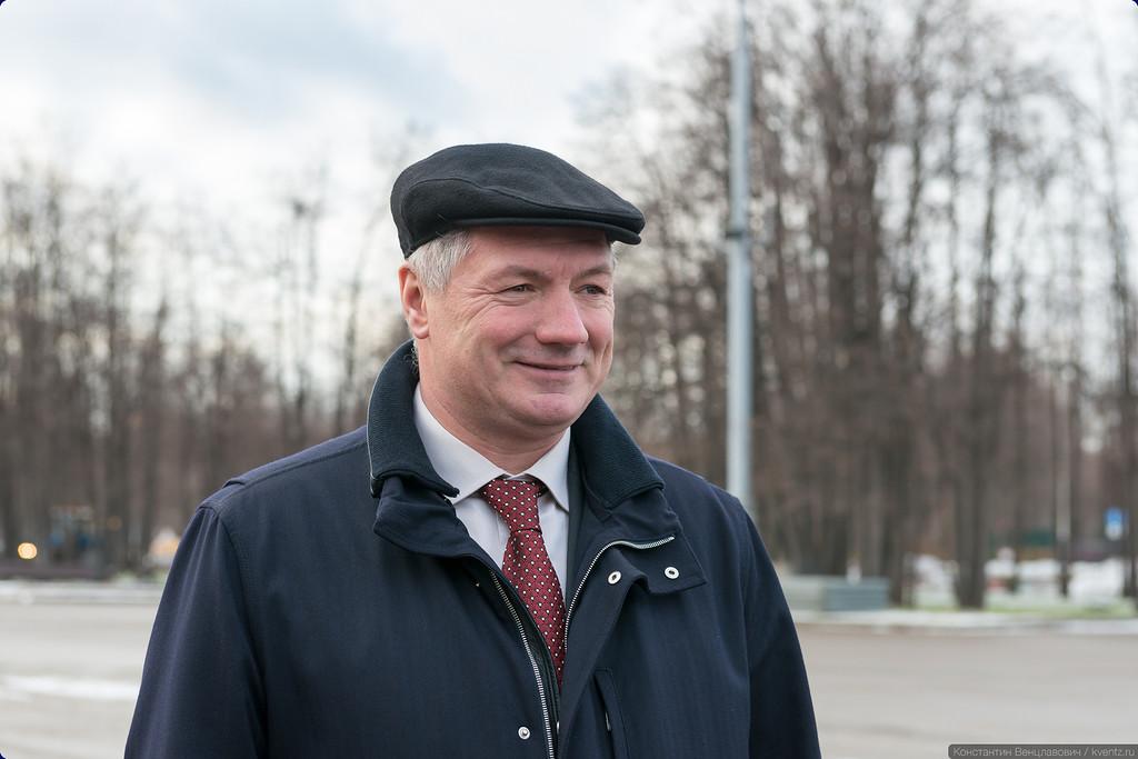 Заместитель Мэра Москвы в Правительстве Москвы по вопросам градостроительной политики и строительства Марат Шакирзянович Хуснуллин