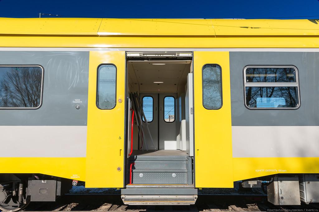 А теперь зайдём в новый поезд