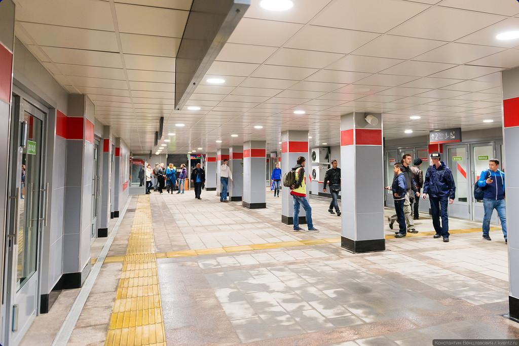 Подземный переход под станцией «Ботанический сад»