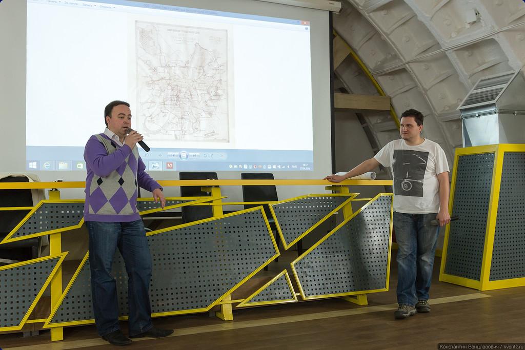 Александр Попов (Russos) и Андрей Суриков (rosmetrostroy)