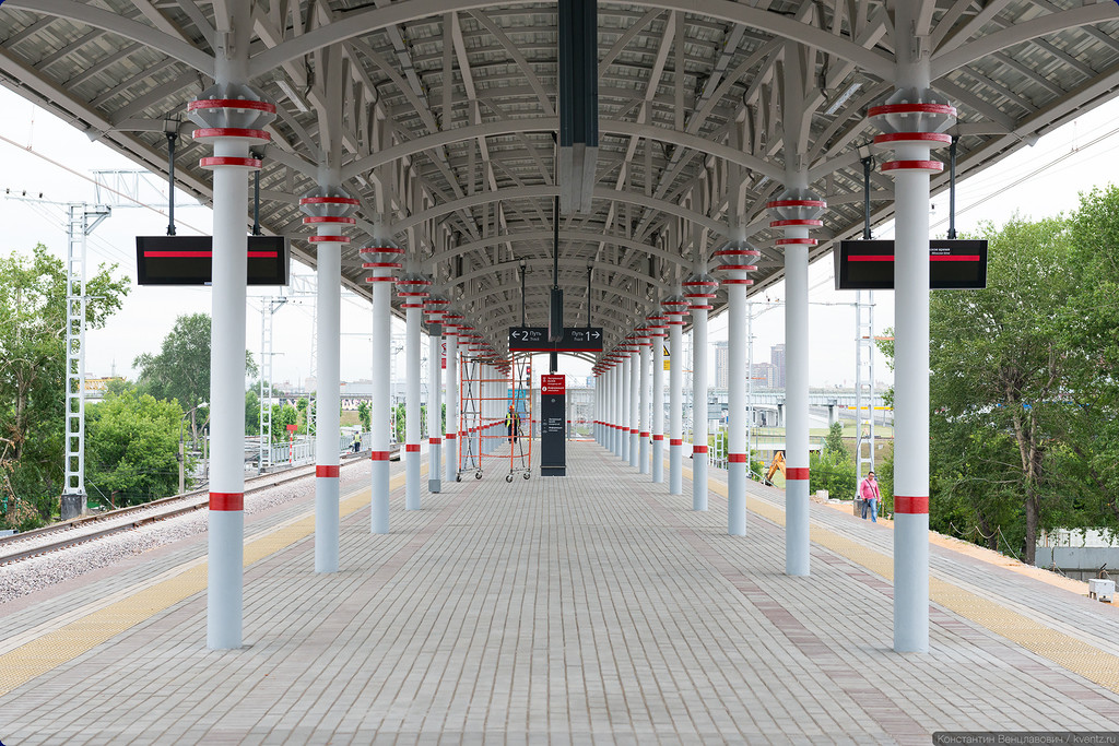Платформа станции