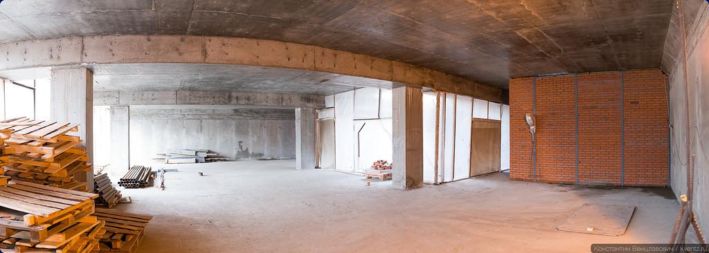 Уровень подземного вестибюля