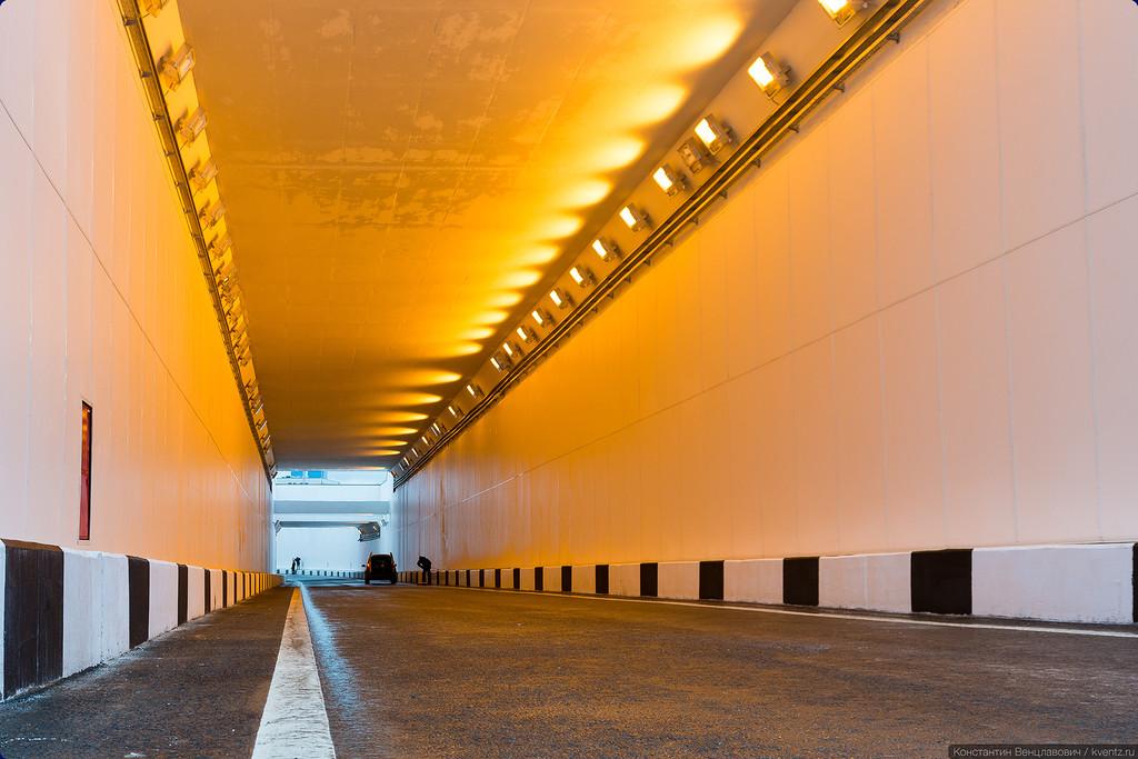 Участок тоннеля под МКАД