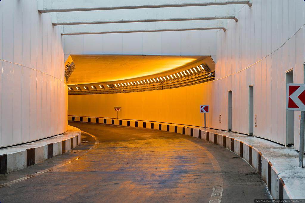 Тоннель под Рязанским проспектом